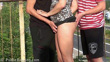 strangers public on cumming in Aniko k nudist