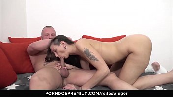 swinger sex fanily 80 year granny kissing a young man