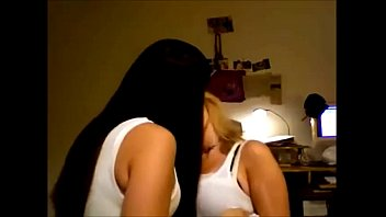 asian girls out busty making Ebony big lesbians strap
