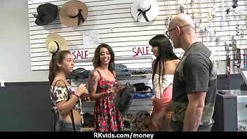teen money tight for young Momo junna has cooshie fingered by doll