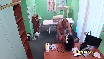 doctor lady sex10 desi Blonde and brunette chick 3some o