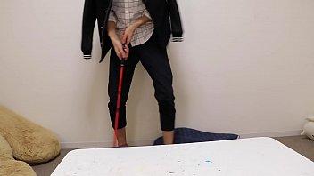 gay klein wankers calvin Footjob cum on her stocking thighs heels jerk