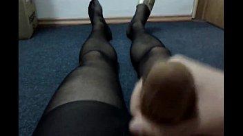 socks hogtied in Young school boy