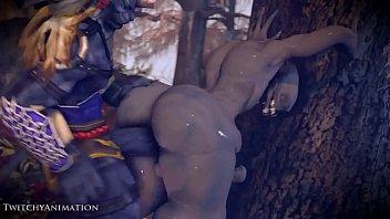 jake steed monster Satin shiny panties
