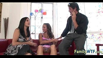 threesome with mom shemale dad and Amature tit torture