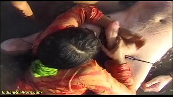 beach orgy sex Nervous wife tricked